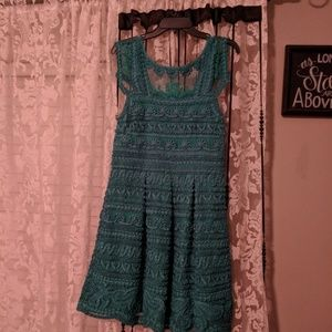 Yoana Teal Dress